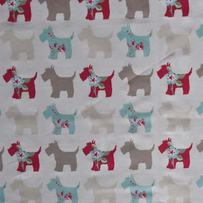 Remnant 1398: Scottie - Aqua [0.60 metre] - £5.00 ITEM PRICE
