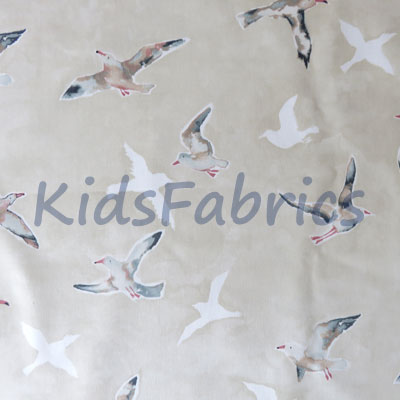 Seagulls - Sand - £11.95 per metre