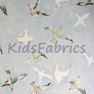 Seagulls - Sky - £11.95 per metre