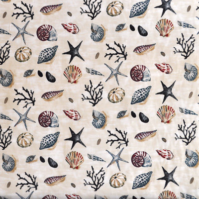 Shells - Seaspray - £11.95 per metre