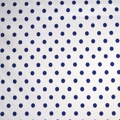 Sixpence Spot - Denim - £7.95 per metre
