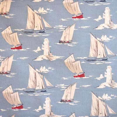 Remnant 1005: Skipper Ships - Blue [0.80 metre] - £6.90 ITEM PRICE