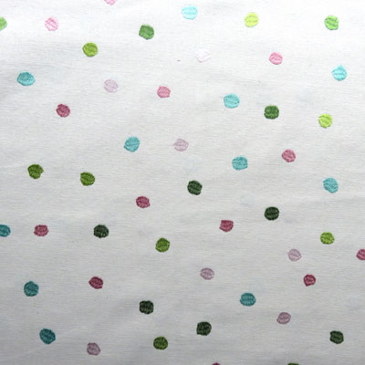 Remnant 1672: Splodge - Pink [0.65 metre] - £7.00 ITEM PRICE