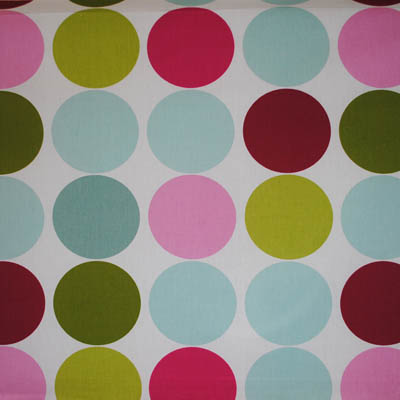Spot On - Fuchsia - £12.50 per metre