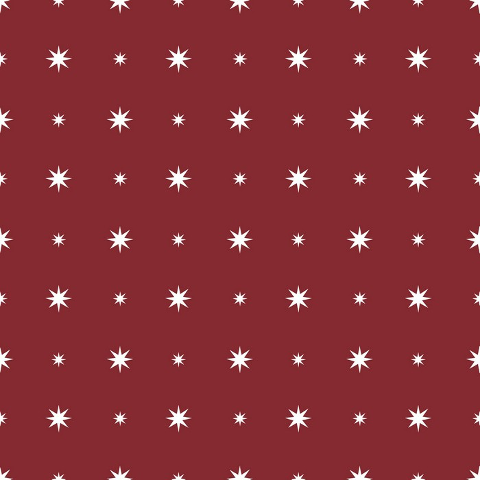 Starlight - Red - £12.95 per metre