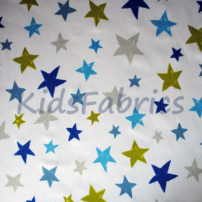 Superstar - Denim - £12.50 Per Metre