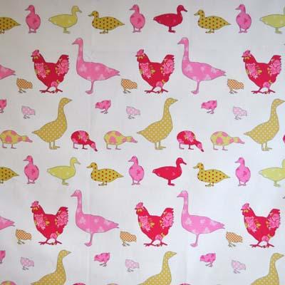 1630: Ducks - Pink [1.8 metre] - £13.50 ITEM PRICE