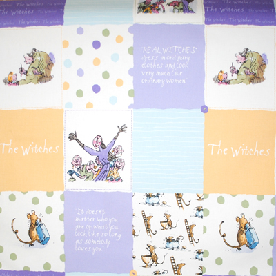 The witches - Patchwork - £9.50 per metre