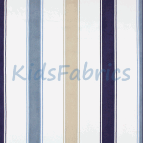 Clipper - Denim Stripe - £ 35.50 Per Metre