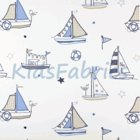 Regatta [Boats] Denim - £ 45.50 Per Metre