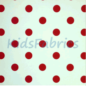WALLPAPER: Polka dot - Red - £ 23.95 per roll