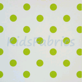 WALLPAPER: Polka dot - Lime - £ 23.95 per roll