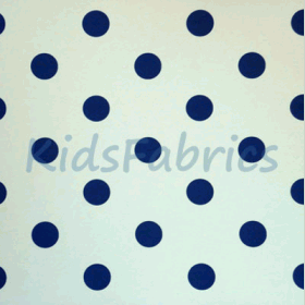 WALLPAPER: Polka dot - Denim - £ 23.95 per roll
