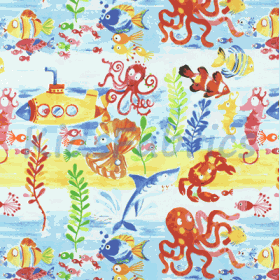 Under the sea - Marine - £ 12.95 Per Metre