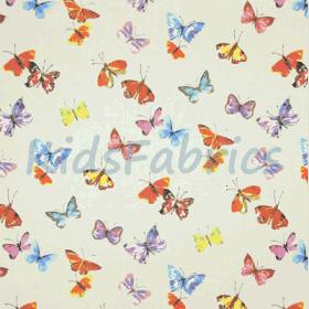 Sweet Butterfly - Linen - £ 11.95 per metre