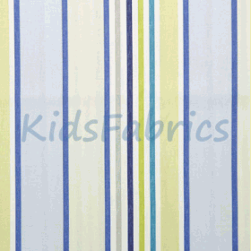 Addison - Cornflower Stripe - £ 12.50 per metre