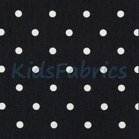 Remnant 1324: Dotty - charcoal [1.0 metre] - £ 8.50 ITEM PRICE