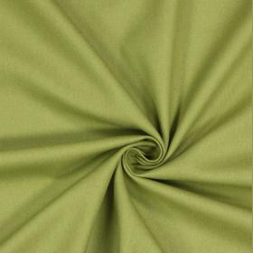 Olive Green Panama Cotton - £ 10.50 per metre