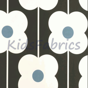 Abacus Flower - Powder blue - £ 18.00 Per Metre