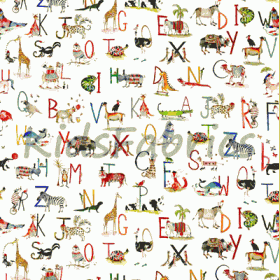 Animal Alphabet - Paintbox - £ 15.50 per metre