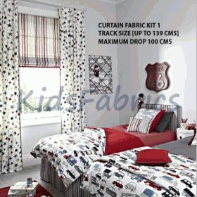 SIZE 01 - FABRIC CURTAIN KIT - £ 0.00 per kit