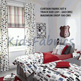 SIZE 09 - FABRIC CURTAIN KIT - £ 0.00 per kit