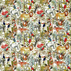 King Of The Jungle - Safari - £ 15.50 per metre