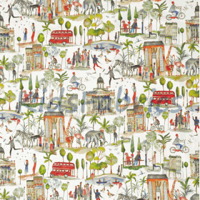 Out and About - Paintbox - £ 15.50 per metre
