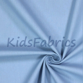 Chambray Blue - Panama Cotton - £ 10.50 per metre