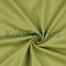 Olive Green - Panama Cotton - £ 10.50 per metre