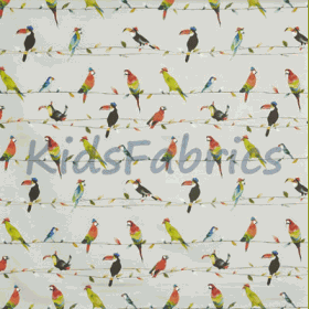 Toucan Talk - Tropical - £ 15.50 per metre