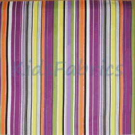Allegra - Cassis Stripe - £ 12.50 per metre