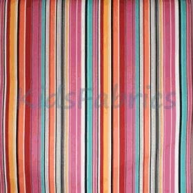 Allegra - Geranium Stripe - £ 12.50 per metre