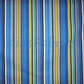 Allegra - Indigo Stripe - £ 12.50 per metre