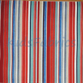 Allegra - Ruby Stripe - £ 8.95 per metre