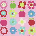 Apple - Cerise - £ 9.75 per metre