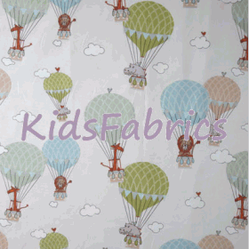 Zoo Animals - Multi - £ 13.95 per metre