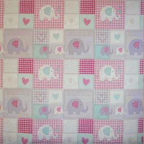 Bo Bo - Pink - £ 10.50 Per metre