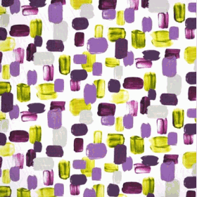 Remnant 1229: Brushstrokes - Purple [0.70 metre - £6.70] - £ 6.70 Item price