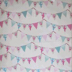 Bunting - Pink - £ 10.95 per metre