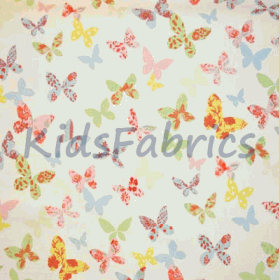 Remnant 1243: Butterfly - Chintz [0.40 metre] - £ 3.75 Item price