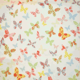 Remnant 1062: Butterfly - Chintz [1.00 metre] - £ 7.90 Item price