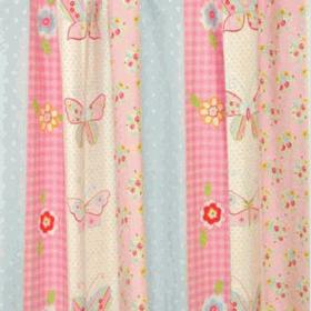 Butterfly Stripe - Pink - £ 10.50 per metre
