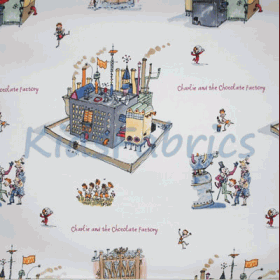 Chocolate Factory - £ 13.50 per metre