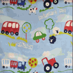 Remnant 1198: Countryside -Chambrey [0.75 metres] - £ 5.30 item price