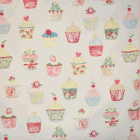 Cupcakes - Multi [PVC Coated] - £ 14.50 per metre