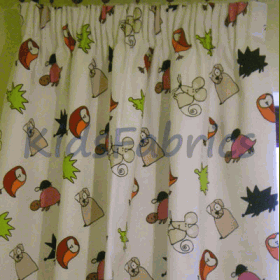 Curtains - Spike Primary - £ 55.00 per item