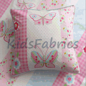 Cushion - Butterfly Stripe Pink - £ 13.50 ITEM PRICE