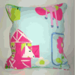 Cushion: Ponies - Chintz - £ 12.00 Item price