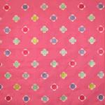 Daisy Embroidery - Fuchsia - £ 34.95 per metre